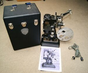 Vintage 1930's Ampro 16mm Silent Precision Projector /with custom case #B2200