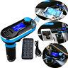 NUOVO BLUETOOTH AUTO KIT Senza Fili FM Trasmettitore DUAL CARICABATTERIE USB