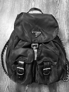 Prada Authentic Backpack Purse