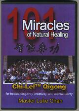 101 Miracles Of Natural Healing DVD by Master Luke Chan Chi-Lel Qigong NOT BOOK!