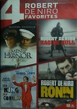 4 ROBERT De NIRO Movies RAGING BULL The KING of COMEDY MEN of HONOR RONIN Sealed