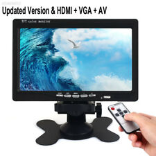 "Portable 7"" TFT LED TV 16:9 HD 1080P Television Digital TV HDMI Video Player POP"