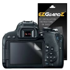 2X EZguardz Clear Screen Protector Shield HD 2X For Canon EOS Rebel T7i