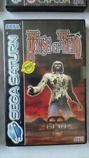 The House of the Dead - Sega Saturn - PAL - Sega - Survival Horror - Light Gun -
