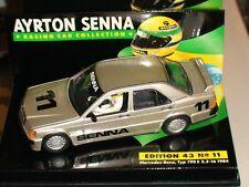 1:43 Minichamps Ayrton Senna Mercedes 190E 1984 - ACS #11+Sleeve