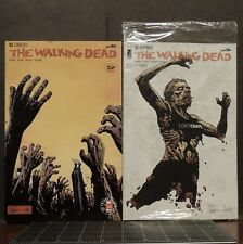 The Walking Dead #132 Loot Crate Variant & #163 lot of 2 comic books zombies