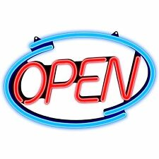 Pro-Lite Neon Led Open Sign Colorful Business Restaurant, Bar, Retail
