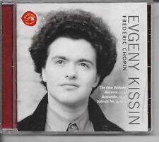 Chopin Four Ballades Berceuse Barcarolle Scherzo Evgeny Kissin Piano Music CD