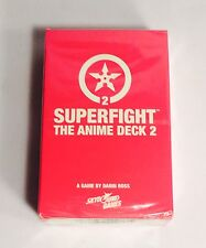 Loot Anime Exclusive-Superfight The Anime Deck 2 Card Game- New- Duel March 2016