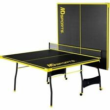 Ping Pong Table Tennis Folding Huge Size Game Set Indoor Outdoor Sport Full Set