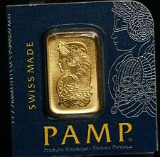 Pamp Suisse 9999 Ag PURE Gold 1g One Gram SEALED Bar - 2