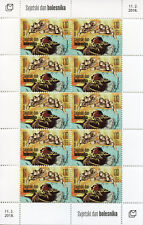 Bosnia & Herzegovina 2018 MNH World Day of Sick 10v M/S Health Medical Stamps
