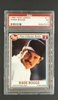 1990 Post Cereal #17 Wade Boggs HOF Red Sox PSA 5 EX Low Pop Only 12 Higher