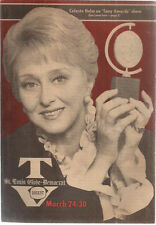 TV DIGEST St. Louis MO March 24 1973 Celeste Holm cover Charley Weaver