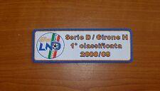 TOPPA PATCH PATCH'S LEGA CALCIO SERIE D LND VINCITORE GIRONE H NOCERINA BRINDISI