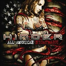 Hinder : All American Nightmare (Deluxe Edition) CD Very Good.