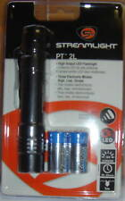 STREAMLIGHT TACTICAL LED FLASHLIGHT PT 2L 88031 with POUCH & BATTERIES 280 LUMEN