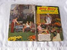 Big Boy Barbeque Book How To Cook/Use Grill BBQ Spit Clean Recipes Cookbook 1956