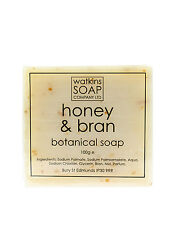Honey & Bran Aromatherapy Soap - SLS Free Exfoliate 100g Bar