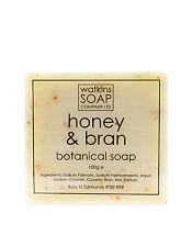 Honey & Bran Aromatherapy Soap - SLS Free Exfoliate 100g Bar