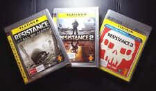 Resistance PS3 Games Bundle - Sony PlayStation 3 PS3 - All 3 Games NEW / SEALED