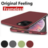 For iPhone 11 Pro XS Max XR 7 8 Plus Ultra Thin Frameless Case Matte Hard Cover