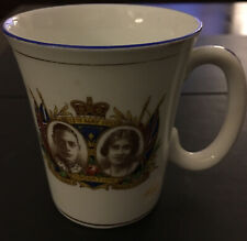 Christmas Ideas Antique George VI & Elizabeth Coronation Mug