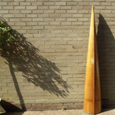 More details for vintage wooden oxford-cambridge boat race type rowing boat cut-off