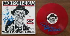 DMC Signed Back From The Dead Vinyl Record RUN DMC Hip Hop Rap LEGEND RARE RAD