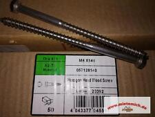 200 Stck Edelstahl Schlüsselschrauben Sechskant-Holzschrauben 8x140mm DIN571 TOP