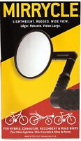 """Mirrycle Bar End Rear View Mirror 3"""" Convex Lens fits Mountain / Commuter Bikes"""