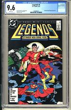 Legends #5  CGC 9.6 WP NM+  DC Comics 1987  John Bryne Batman Superman Shazam