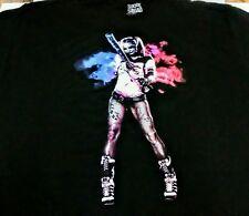 DC Comics Suicide Squad Harley Quinn Bat Black Mens 3XL Graphic T Shirt NWOT