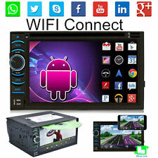 """Quad Core Android 4.4 3G WIFI 6.5"""" Double 2DIN Car Radio Stereo DVD Player GPS"""
