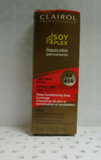 Clairol SOY 4 PLEX pERMANENT Hair Color 4R Light Red Brown 2 oz (892) r9