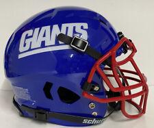 New York Giants Custom Full Size Authentic Schutt Vengeance Football Helmet !