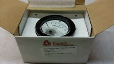 Modified Triplett 0-100 Milivolts mvDC 221-HR Round Analog Panel Meter New