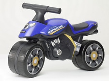 FALK RIDE ON TOYS NEW HOLLAND PUSH ALONG MOTORCYCLE FA422