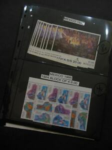 MEXICO : 1991-2005. 4 Better items. All Very Fine, Mint NH. Scott Catalog $327.