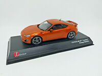 """KYOSHO 1:43 - TOYOTA 86 GT """"Limited"""" Orange Metallic Jcollection JCP73001OR"""
