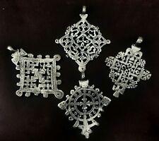 Lot Handmade Ethiopian Coptic Cross Pendants Ethiopia Orthodox Jewelry Ethnic
