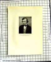 Original Old Antique Print C1906 Birket Foster Young Man Photograph 20th