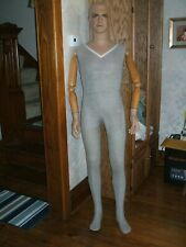 "Mid-Century Vintage Full Size Male Mannequin-70""-Vgc"