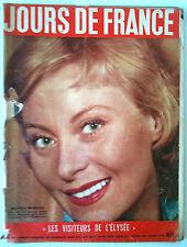 Jours de France 25/01/1956; Michèle Morgan/ Météor Angleterre/ AUdrey Hepburn