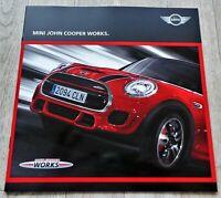 9056) Mini John Cooper Works 2015 Prospekt Brochure