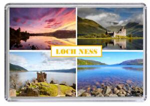 Loch Ness Scotland Fridge Magnet 02