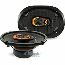 "CADENCE 500W 6 x 9"" 3-Way QSR Series Coaxial Car Speakers 