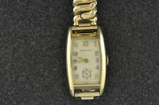 VINTAGE MENS CROTON WRISTWATCH CALIBER F37/406 KEEPING TIME