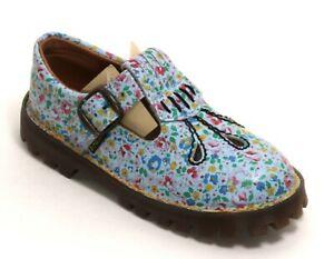 195 Kinderschuhe Blumen Leder Dr. Martens AirWair England Kids Sandale Floral 30