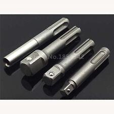 """4Pcs 1/4""""3/8""""1/2"""" SDS Socket Driver Drills +Quick Change 1/4"""" Hex Shank Adaptor"""